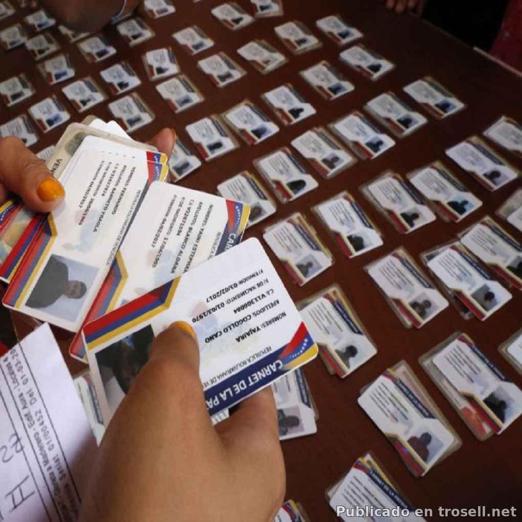 A partir de hoy #01Dic arranca Jornada de Carnetización a Nivel Nacional de #Carnet #Patria