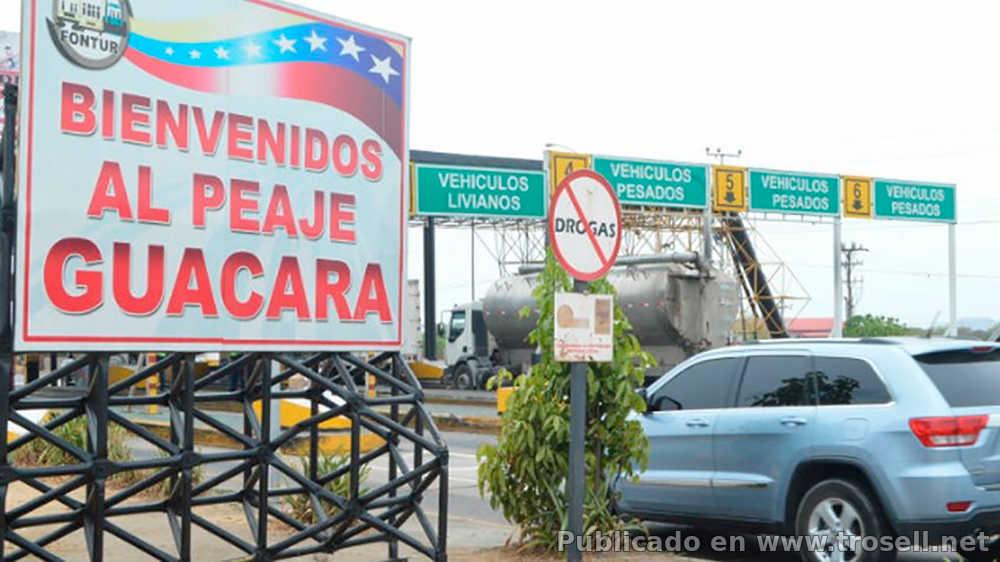 EN GACETA OFICIAL: Nuevas tarifas de los PEAJES en CARABOBO