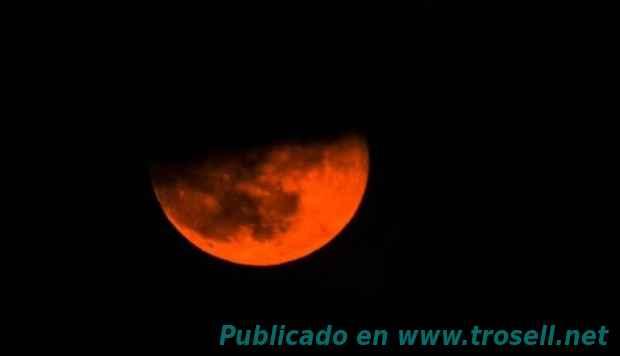 Luna de sangre el 21 de Enero de 2019