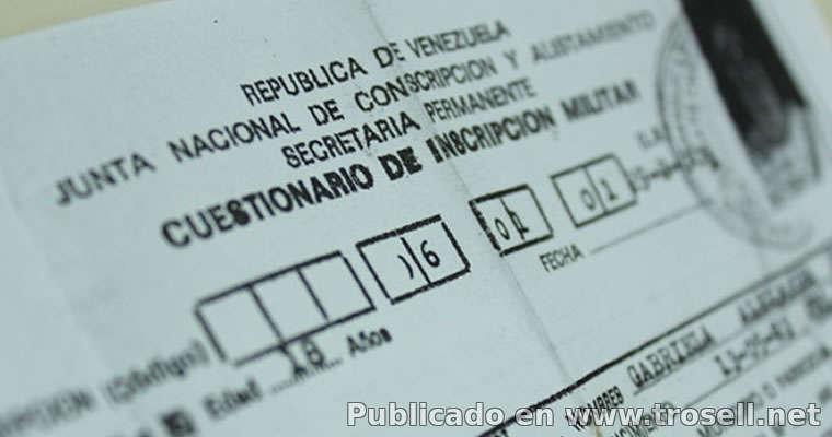 Requisitos para Sacar El Carnet Militar en Venezuela