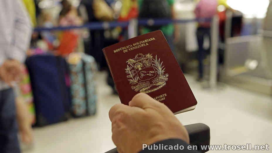 SAIME desmiente que sea obligatorio certificacion de pasaporte