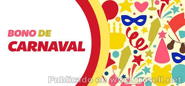 Bono de Carnaval Carnet de La Patria ya esta disponible